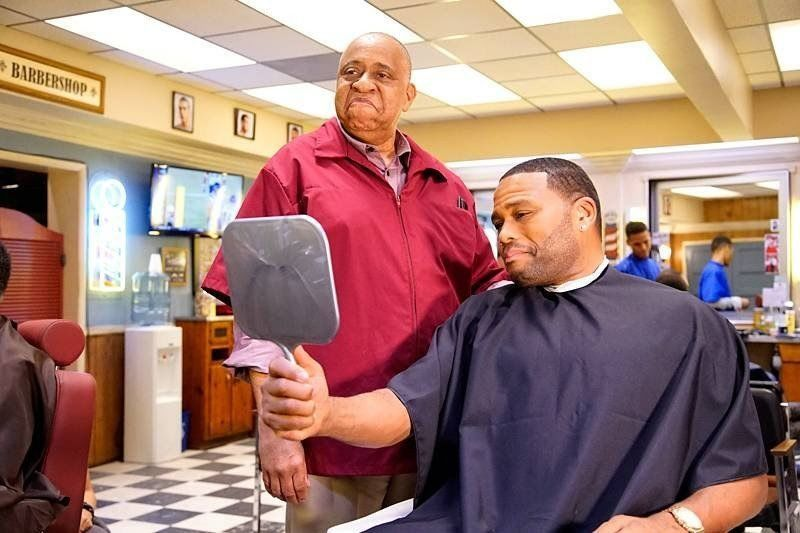 Men in barbershop
