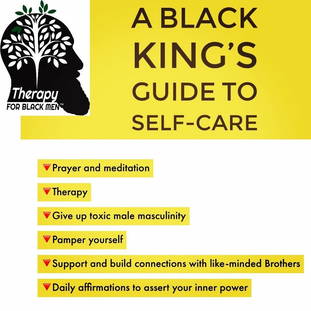 A Black King's Guide to Self-Care