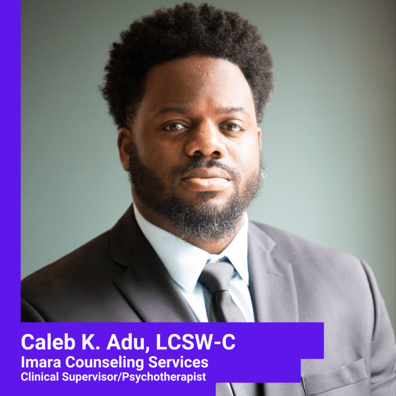 Caleb K. Adu, Psychotherapist